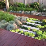timber deck and stone garden northern beaches