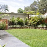 Turfing and garden walls