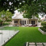 Landscaping and turfing