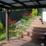 Timber decking and landscaping, northern beaches