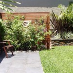 Timber screen construction on the northern beaches