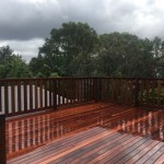 Timber deck and railing northern beaches