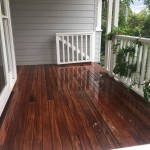 Timber deck entrance northern beaches
