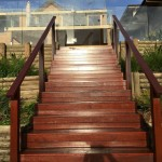 Timber stairs northern beaches
