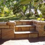 Stone garden walls