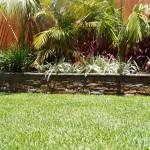 Garden walls, landscaping