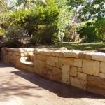 Retaining wall, stone