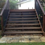 Timber decks/steps north shore